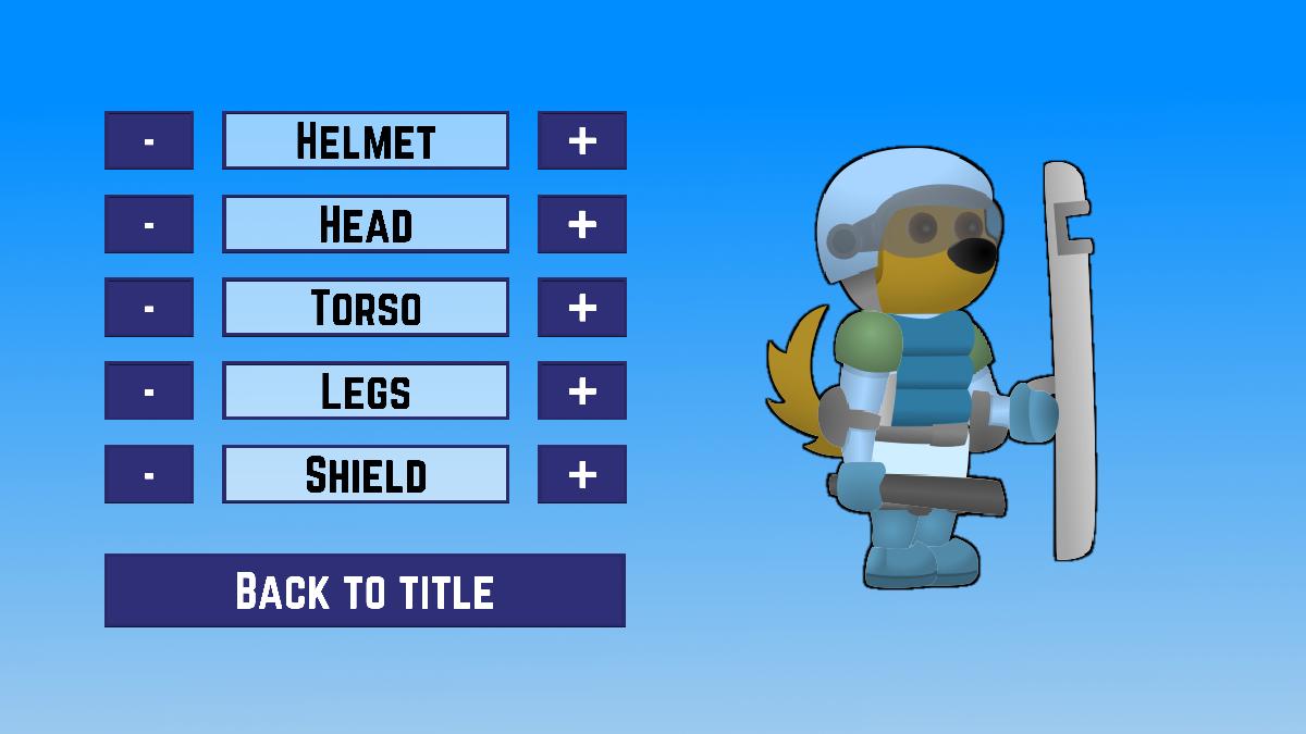 Riotdog customisation